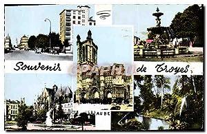 Carte Postale Moderne Souvenir De Troyes Avenue