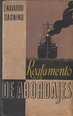 REGLAMENTO DE ABORDAJES.: NAVARRO DAGNINO, JUAN