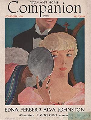 ORIG VINTAGE MAGAZINE COVER/ WOMAN'S HOME COMPANION: Hollingsworth (Illust.), Will