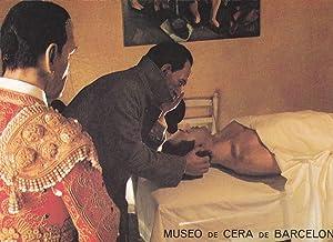 POSTAL B6594: BARCELONA: MUSEO DE CERA. ENFERMERIA: Varios