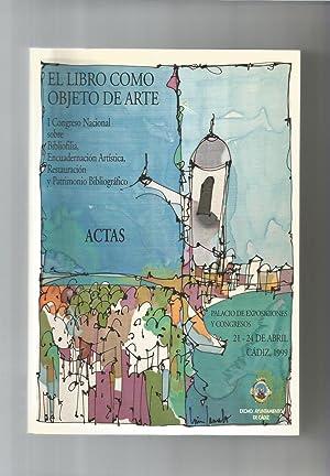 El libro como objeto de arte. Actas: VV.AA.:
