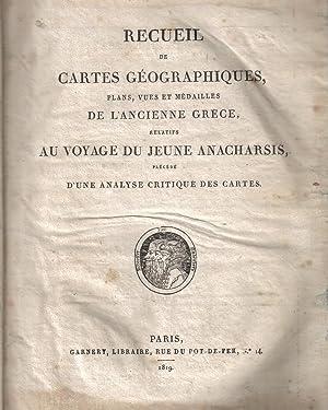 Recueil de Cartes Géographiques, Plans, Vues et: Barbié du Bocage/