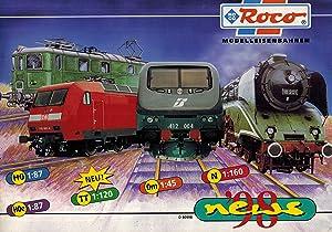 Imagen del vendedor de Neuheiten-Katalog 1998 Modelleisenbahnen a la venta por Clivia Mueller