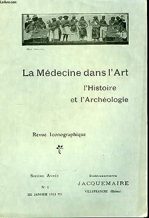 La Médecine dans l'Art, l'Histoire et l'Archéologie: DESVERNAY Félix