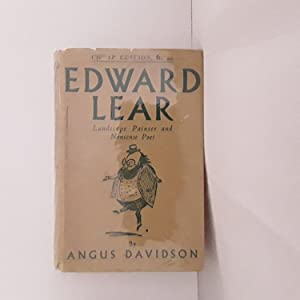 EDWARD LEAR - LANDSCAPE PAINTER AND NONSENSE POET
