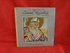 La légende de saint Nicolas.: CROUVEZIER (G.)