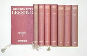 Werke (8 Bde.).: Lessing, Gotthold Ephraim