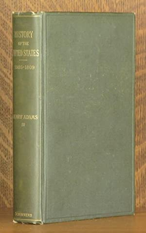HISTORY OF THE UNITED STATES OF AMERICA: Henry Adams