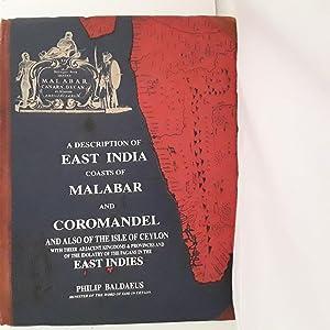 A DESCRIPTION OF EAST INDIA COASTS OF: Baldaeus, Philip