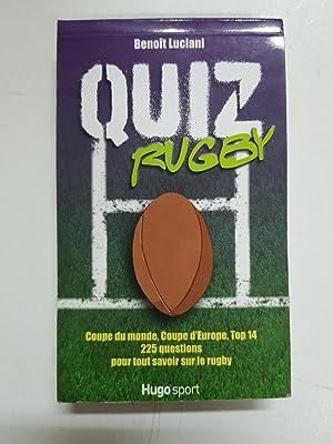Quiz rugby : Coupe du monde, Coupe: Benoît Luciani