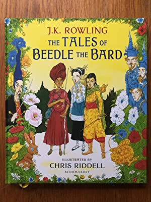 The Tales of Beedle the Bard: Illustrated: J.K. Rowling -