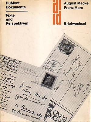 August Macke - Franz Marc. Lisbeth Macke: Macke, August und