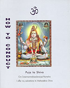 Seller image for How to Conduct Puja to Shiva for sale by PERIPLUS LINE LLC