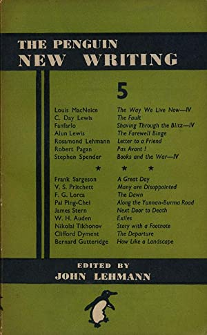 The Penguin New Writing 5: Pritchett, V. S.
