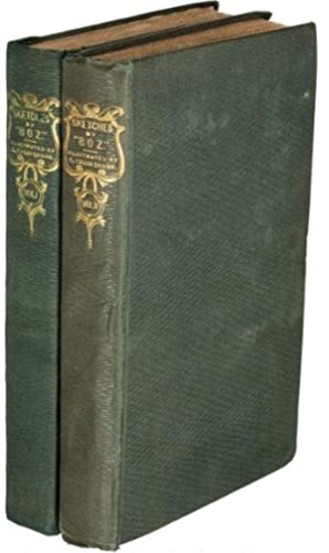 Sketches by Boz (two volume set): Dickens, Charles