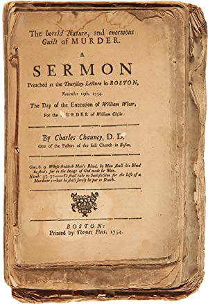 [COLLECTION OF SIX SERMONS BY CHARLES CHAUNCY, STITCHED TOGETHER AT AN EARLY DATE]