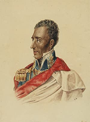 [WATERCOLOR OF GENERAL JEAN-PIERRE BOYER, PRESIDENT OF HAITI]