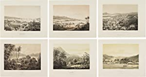 [COLLECTION OF SIX LITHOGRAPHIC VIEWS OF ST. CROIX, ST. JOHNS, AND ST. THOMAS IN THE VIRGIN ISLANDS]