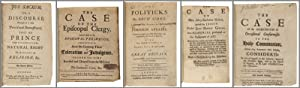 [FIVE SAMMELBANDS CONTAINING FORTY-ONE PAMPHLETS ON POLITICAL AND RELIGIOUS AFFAIRS IN LATE 17TH ...