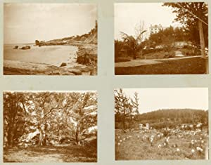 [ALBUM CONTAINING FORTY-FOUR PHOTOGRAPHS OF LATE 19th CENTURY BERMUDA, COMPILED BY A NEW YORK TOU...