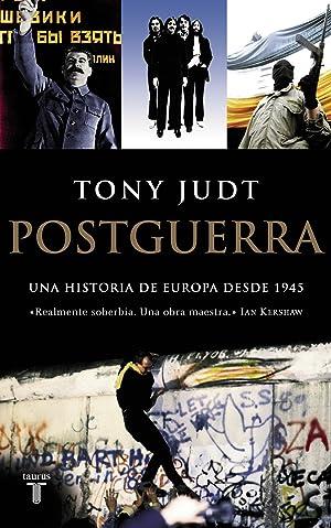 Postguerra Una historia de Europa desde 1945: Judt, Tony