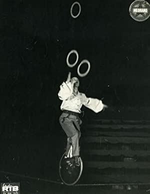 France Music Hall Medrano Circus Acrobat Ruddy: RIB
