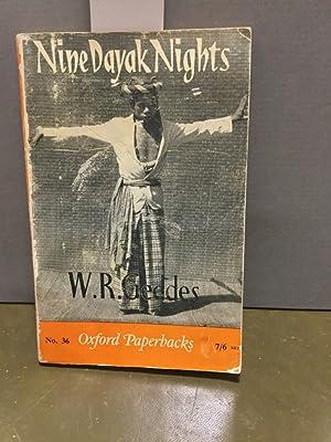 Nine Dayak Nights. No. 36: Geddes, W. R.: