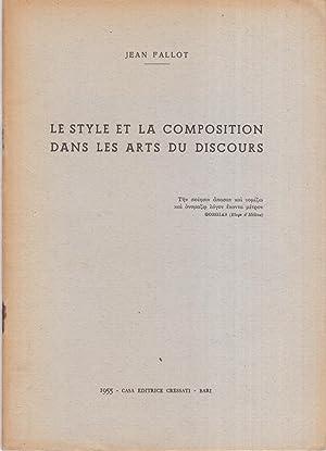 Le style et la composition dans les: Jean Fallot