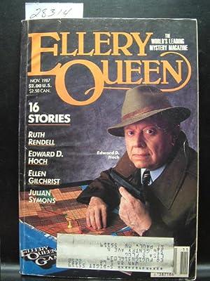 ELLERY QUEEN'S MYSTERY - Nov, 1987: Henty Slesar ---
