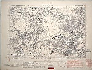 OLD ORDNANCE SURVEY MAP HAYES 1907 PICKHURST GREEN WEST WICKHAM LANGLEY PARK