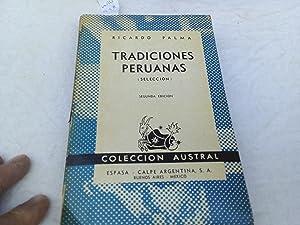 Tradiciones peruanas: Palma, Ricardo.