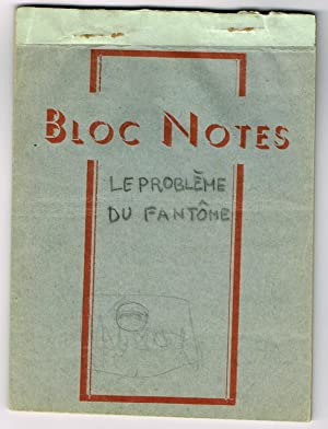 Le Problème du Fantôme. Sketchbook containing 49 sketches for an unpainted work.