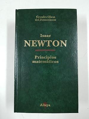 Newton Principios Matemáticos De La Filosofía Natural Iberlibro