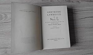 Gertrude Lawrence as Mrs A: Richard Stoddard Aldrich