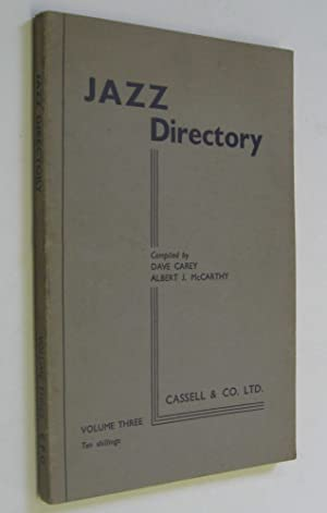 Jazz Directory: Volume Three: Carey, Dave