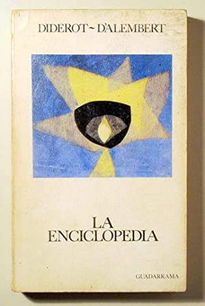 LA ENCICLOPEDIA - Madrid 1974: DIDEROT - D'ALEMBERT