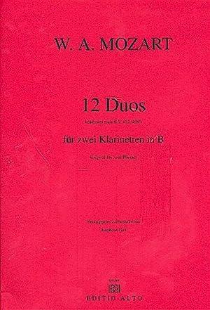 12 Duos nach KV487 (KV496a) .für 2: Wolfgang Amadeus Mozart