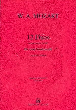 12 Duos KV487 für 2 Hörnerfür 2: Wolfgang Amadeus Mozart