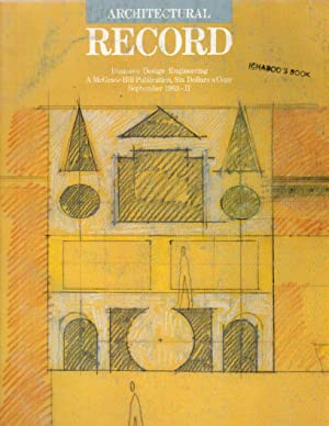 Architectural Record: September 1983-II; Vol. 171, No. 11