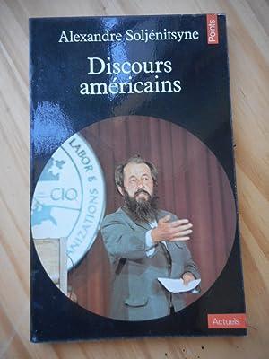 Discours americains: SOLJENITSYNE Alexandre