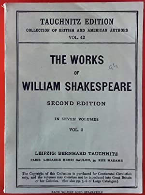 The Works of Wilhelm Shakespeare. Complete in: Rev. Alexander Dyce