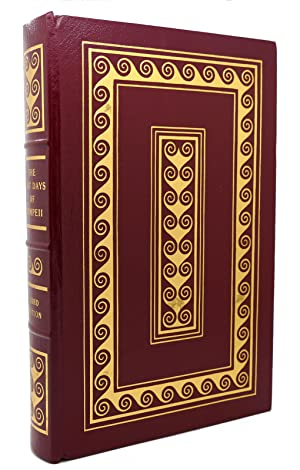 THE LAST DAYS OF POMPEII Easton Press: Bulwer-Lytton, Edward George