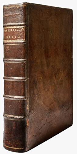 The Holy Bible, Containing the Old Testament: BASKERVILLE, John, 1706-1775]