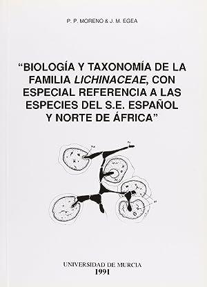 Biologia y taxonomia de familia lichin: Moreno,P.