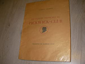 LES PAPIERS POSTHUMES DU PICKWICK-CLUB: DICKENS CHARLES-[TOUCHET JACQUES]