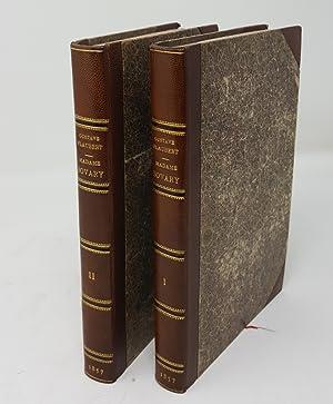 Madame Bovary. Moeurs de Province. Deuxième édition.: FLAUBERT, Gustave.