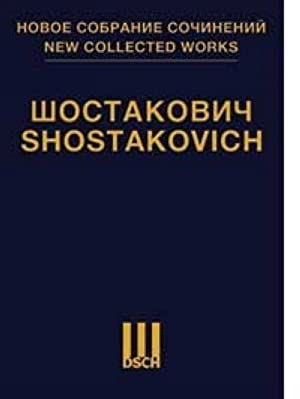 New Collected Works of Dmitri Shostakovich. Vol. 117. Hamlet. Music to the Play, Op. 32. Score