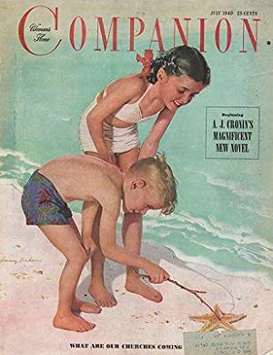 ORIG VINTAGE MAGAZINE COVER/ WOMAN'S HOME COMPANION: Anderson (Illust.), Harry