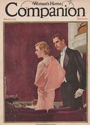 ORIG VINTAGE MAGAZINE COVER/ WOMAN'S HOME COMPANION: Spreter (Illust.), Roy