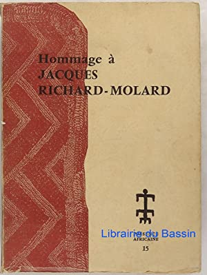Hommage à Jacques Richard-Molard 1913-1951